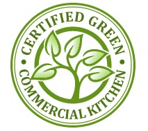 Certified Green Commercial Kitchen logo