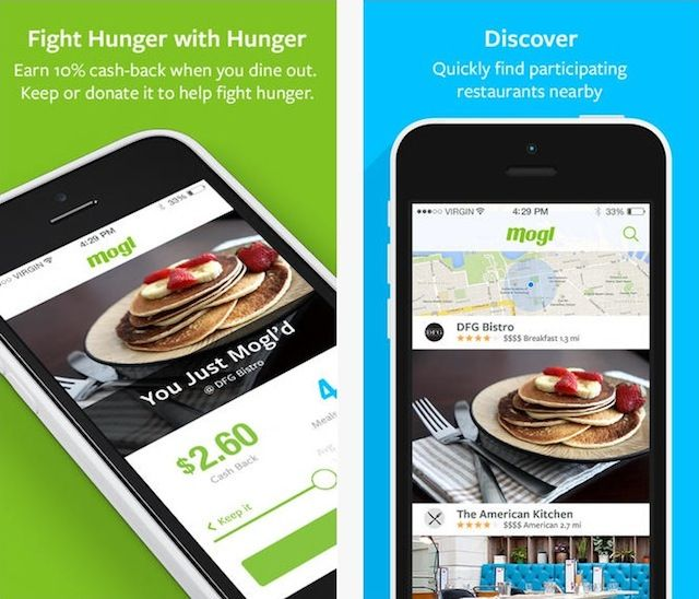 Feed the hungry with Mogl