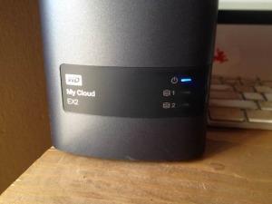 WD My Cloud EX2 private cloud storage