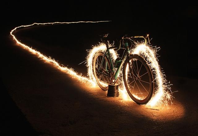 electric bike sparks