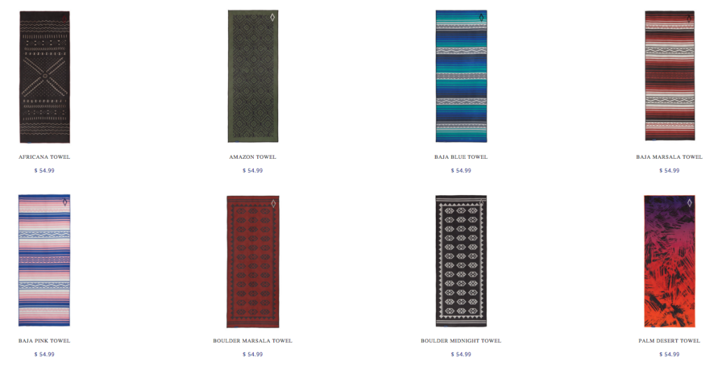 nomadix blankets