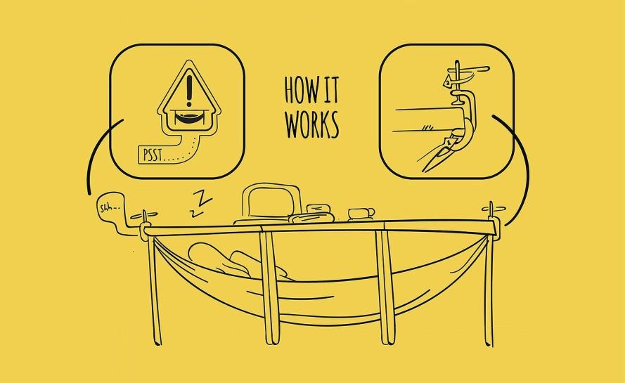 Schnap portable hammock