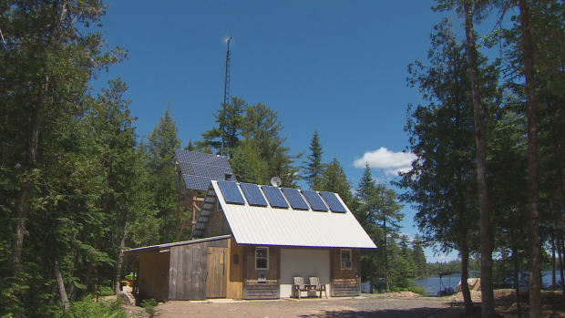 Off Grid Ales uses solar power