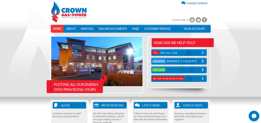 Crown Gas and Power screenshot