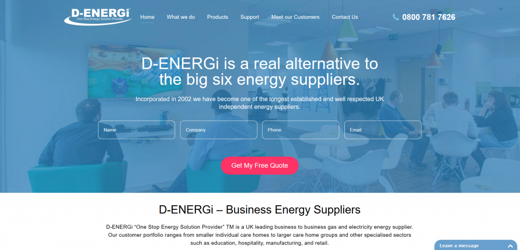 D-Energi screenshot