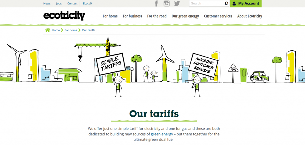 Ecotricity screenshot