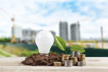 Business energy comparison icon
