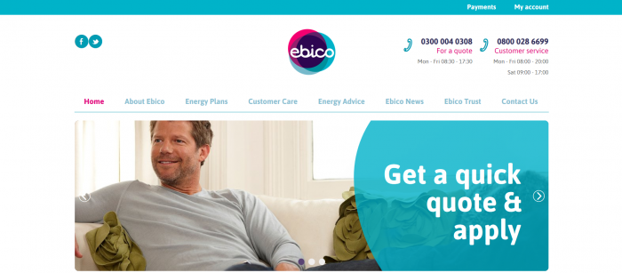 Ebico Energy Screenshot