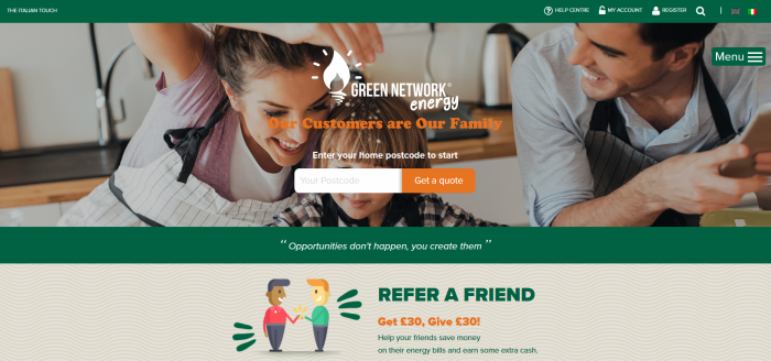 Green Network Energy screenshot