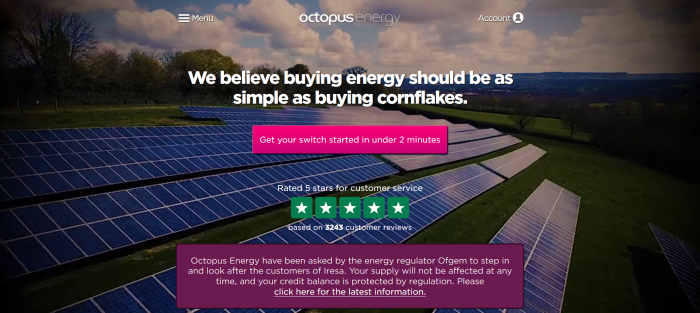 Octopus Energy screenshot