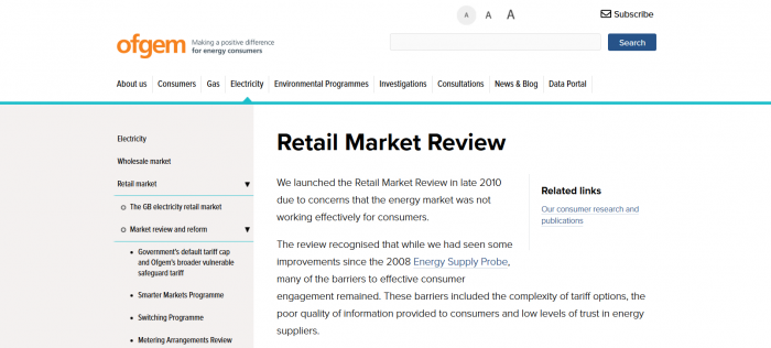 Retail Market Review (RMR): What is it, and what does it mean for your energy?