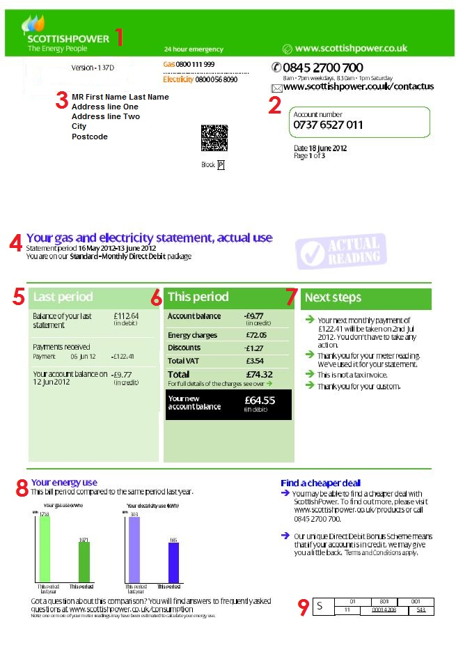 Scottish Power Bill 1